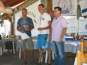 Skandalopetra in Porto Koufo - winners